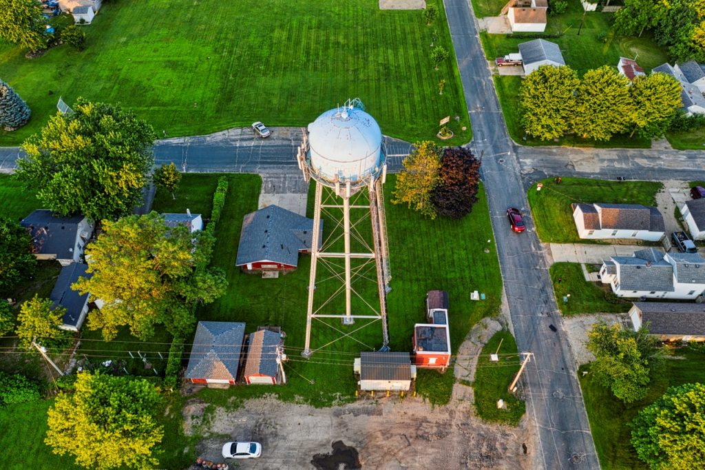 What's the difference between a Water Tower and a Water Tank