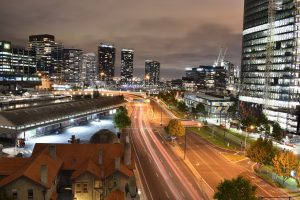 Melbourne busy roads